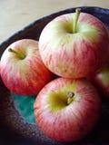2 μήλα Στοκ Εικόνες