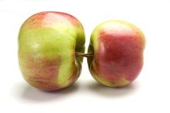 2 μήλο s Στοκ Εικόνες
