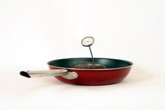2 μαγειρεύοντας χρηματοκιβώτιο Στοκ Εικόνες
