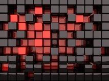 2 μαύρα κουτιά Στοκ φωτογραφία με δικαίωμα ελεύθερης χρήσης