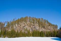 2 μεγάλοι απότομοι βράχοι Στοκ Εικόνες