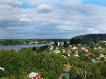 2 μικρού χωριού Στοκ Εικόνες