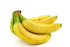 2 μπανάνες συσσωρεύουν ώριμο Στοκ Φωτογραφία