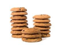 2 μπισκότα σοκολάτας τσιπ στοκ εικόνα με δικαίωμα ελεύθερης χρήσης
