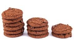 2 μπισκότα σοκολάτας τσιπ Στοκ Εικόνες