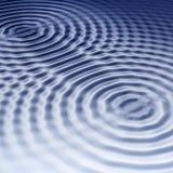 2 μπλε κύματα Στοκ φωτογραφία με δικαίωμα ελεύθερης χρήσης