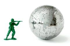 2 να στοχεύσει τον κόσμο παιχνιδιών στρατιωτών Στοκ φωτογραφία με δικαίωμα ελεύθερης χρήσης