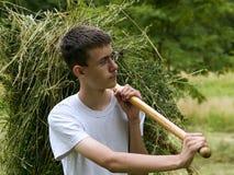 2 νεολαίες αγροτών Στοκ φωτογραφία με δικαίωμα ελεύθερης χρήσης