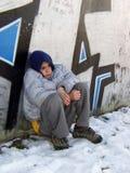 2 νεολαίες δραπέτη Στοκ εικόνα με δικαίωμα ελεύθερης χρήσης