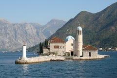2 νησί Μαυροβούνιο Στοκ εικόνες με δικαίωμα ελεύθερης χρήσης