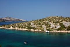 2 νησιά sibenik Στοκ εικόνα με δικαίωμα ελεύθερης χρήσης