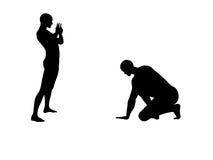 2 νικημένη πάλη fu kung Στοκ φωτογραφία με δικαίωμα ελεύθερης χρήσης