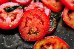 2 ντομάτες σαλάτας Στοκ εικόνες με δικαίωμα ελεύθερης χρήσης