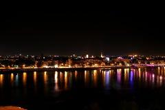2 νύχτα Novi Sad Στοκ Εικόνα