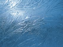 2 παγωμένο παράθυρο Στοκ εικόνες με δικαίωμα ελεύθερης χρήσης