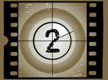 2 παλαιός ταινιών αντίστροφη ελεύθερη απεικόνιση δικαιώματος