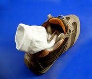 2 παπούτσια Στοκ φωτογραφία με δικαίωμα ελεύθερης χρήσης