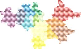 2 περίγραμμα Σιλεσία Στοκ φωτογραφία με δικαίωμα ελεύθερης χρήσης