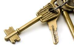 2 πλήκτρα keychain Στοκ φωτογραφία με δικαίωμα ελεύθερης χρήσης