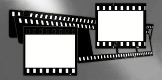 2 πλαίσια ταινιών σύνθεσης &chi Στοκ Εικόνες