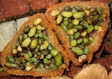 2 ποικιλίες baklava Στοκ Εικόνα