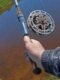 2 που ψαρεύουν Στοκ Φωτογραφίες