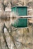 2 πράσινα κατοικούν Στοκ Εικόνες