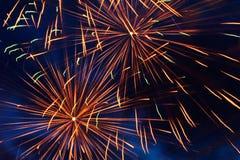 2 πυροτεχνήματα Στοκ φωτογραφίες με δικαίωμα ελεύθερης χρήσης