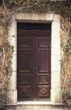 2 πόρτα Γαλλία Στοκ Φωτογραφίες