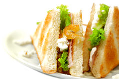2 σειρές τροφίμων δυτικές Στοκ φωτογραφία με δικαίωμα ελεύθερης χρήσης