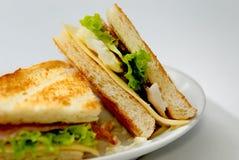 2 σειρές τροφίμων δυτικές Στοκ Εικόνες
