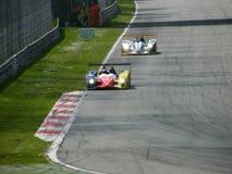 2 σειρές monza του Le Mans Στοκ φωτογραφίες με δικαίωμα ελεύθερης χρήσης