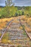 2 σιδηρόδρομοι Στοκ Εικόνες