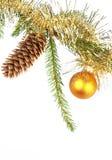 2 σκίτσα Χριστουγέννων Στοκ Εικόνες