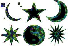 2 σύμβολα karma Στοκ Εικόνες