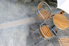 2 σύνολο patio Στοκ Εικόνες