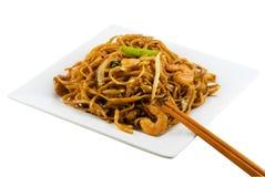 2 τηγανισμένα noodles Στοκ Εικόνες
