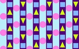 2 τρίγωνα λωρίδων κύκλων Στοκ Φωτογραφίες