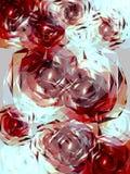 2 φανταστικά λουλούδια Στοκ φωτογραφίες με δικαίωμα ελεύθερης χρήσης