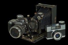 2 φωτογραφικές μηχανές τρε& Στοκ εικόνα με δικαίωμα ελεύθερης χρήσης