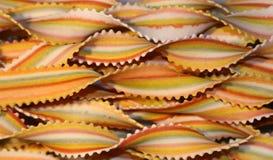 2 χρωματισμένα noodles Στοκ Εικόνες