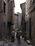 2 χωριουδάκι μεσαιωνική Π&r Στοκ Φωτογραφίες