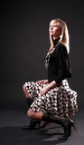 2 όμορφες μαύρες γυναίκε&sigmaf Στοκ φωτογραφία με δικαίωμα ελεύθερης χρήσης
