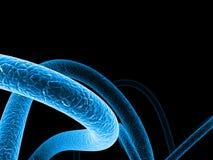 2 абстрактных клетчатого Стоковые Фото