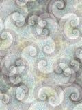 2 абстрактных свирли предпосылок Стоковые Изображения RF