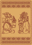 2 американских индейца Стоковые Изображения RF