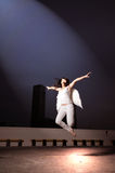 2 ангела спуская Стоковая Фотография RF