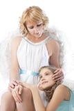 2 ангела Стоковое Изображение RF