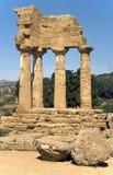 2 античных руины Стоковая Фотография RF