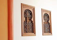 2 арабских окна типа Стоковое Изображение